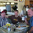 Breakfast with Matt's Dad