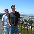 PK and Jon David at Twin Peaks
